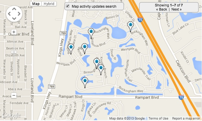 Kings Gate Home Search