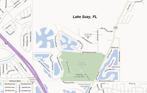 Lake Suzy Home Search