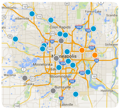 MN Real Estate Interactive Map Search