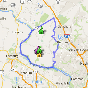 Poolesville Cluster Boundary Map