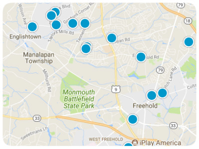 Monmouth County Real Estate Map Search