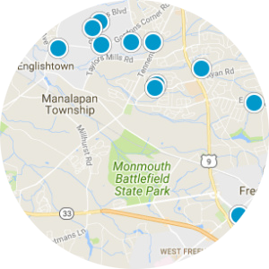 Four Ponds At Lincroft Real Estate Map Search