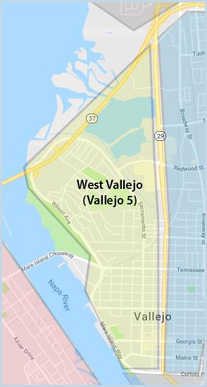 West (Vallejo 5)) Area of Vallejo CA