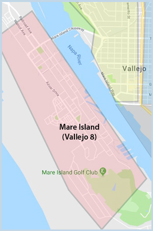 Mare Island (Vallejo 8)) Area of Vallejo CA
