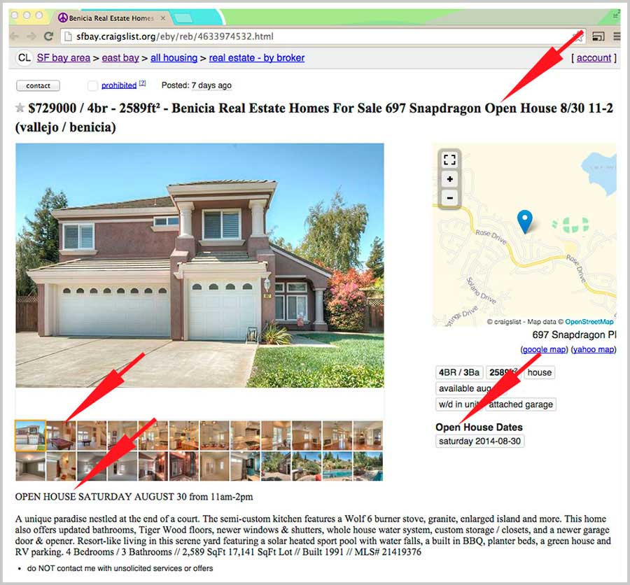 Craigslist Real Estate Advertising