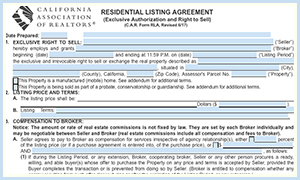 Real Estate Forms, Disclosures, Escrow