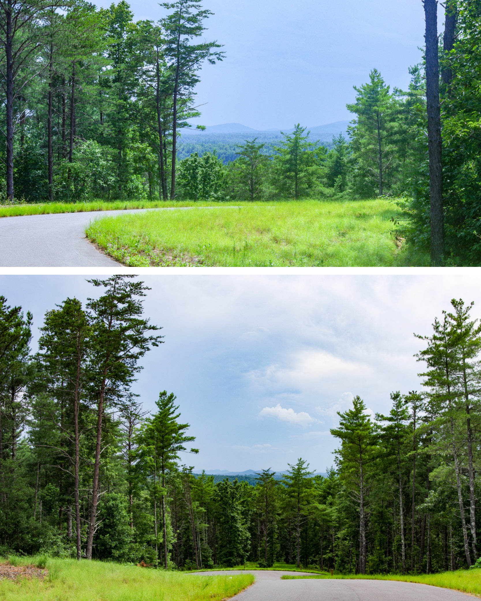 Lake James, NC - Blue Ridge Mountains