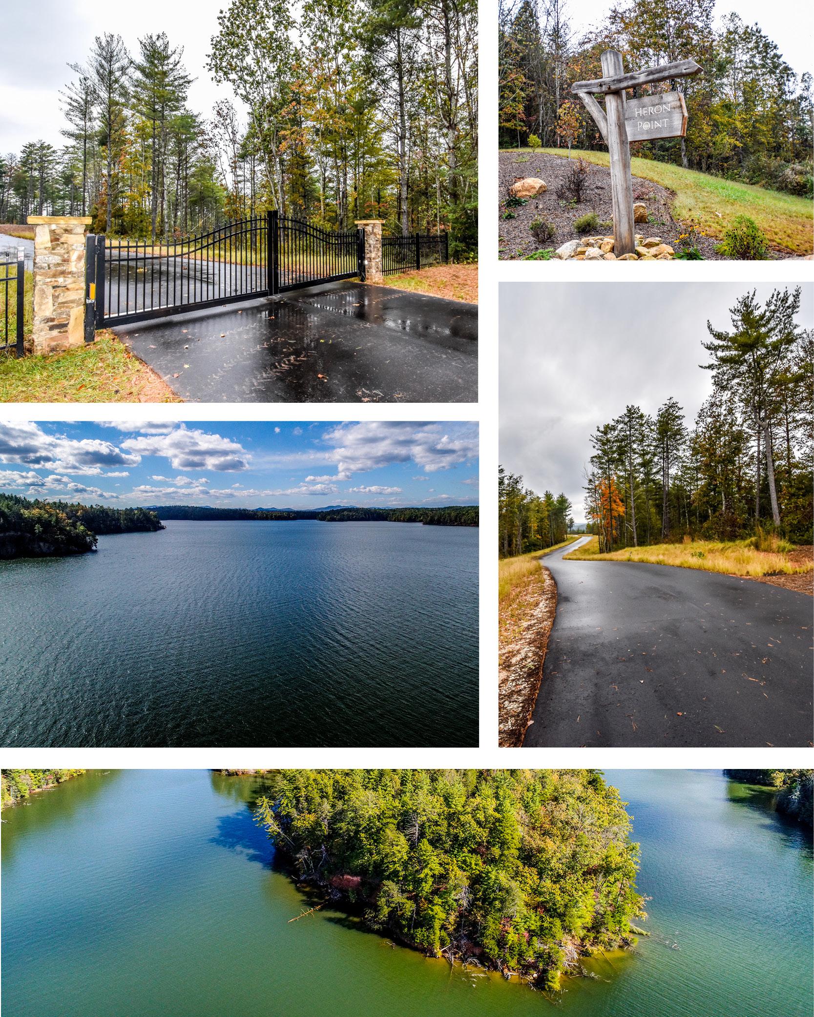 Waterfront Estate Lots - Lake James North Carolina