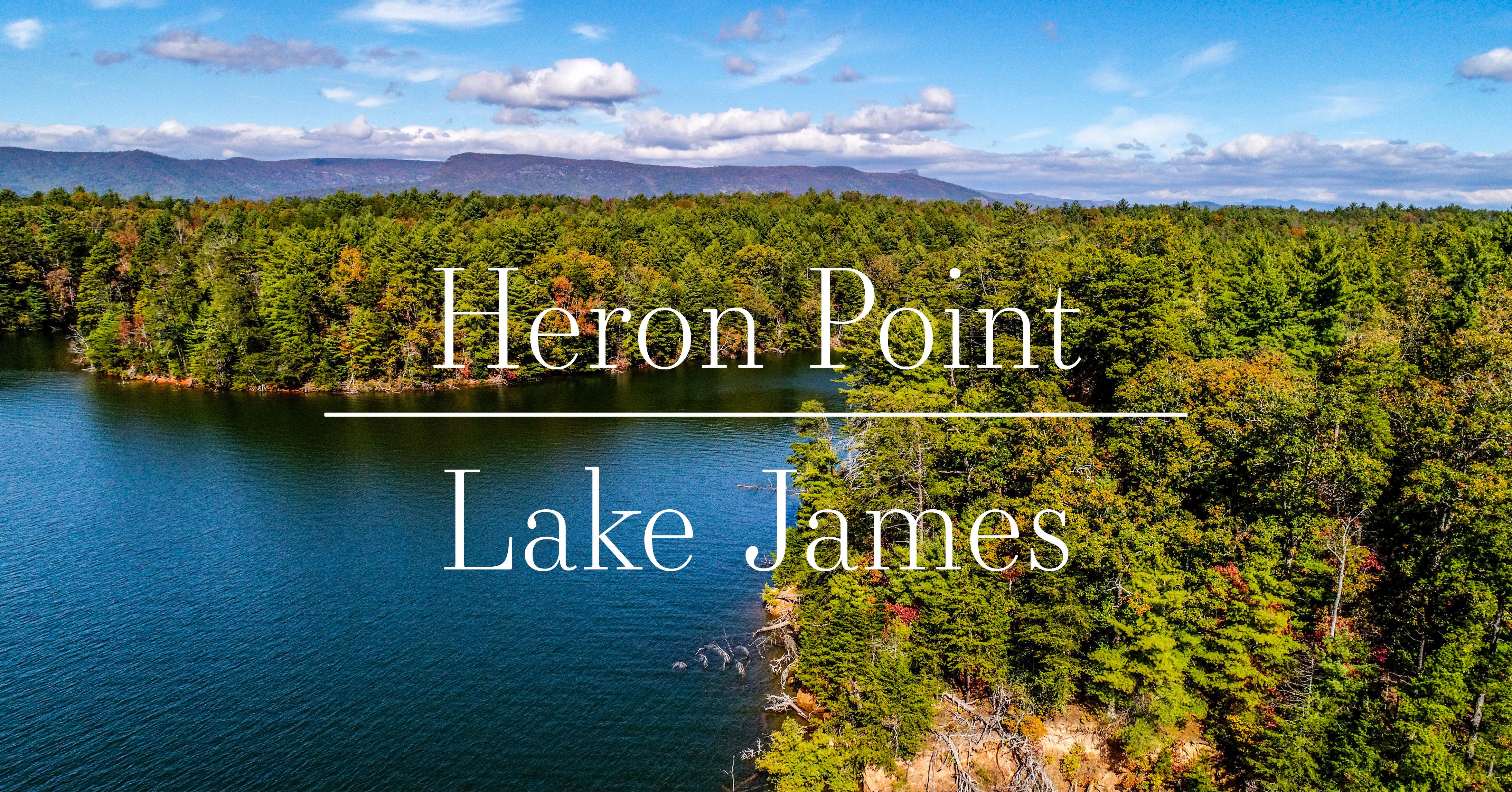 Heron Point Lake James