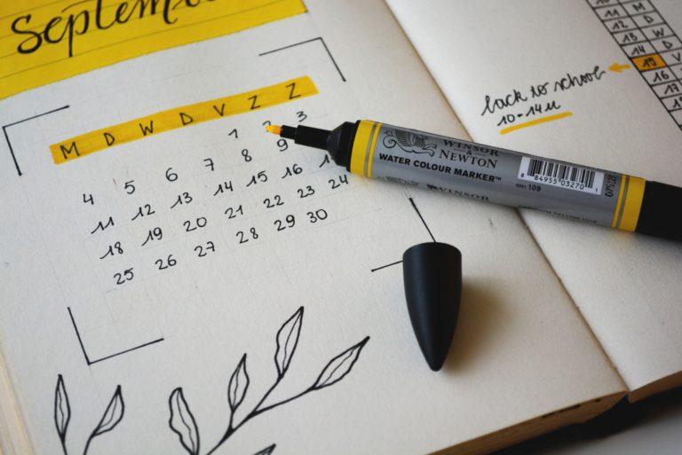 rental payment calendar