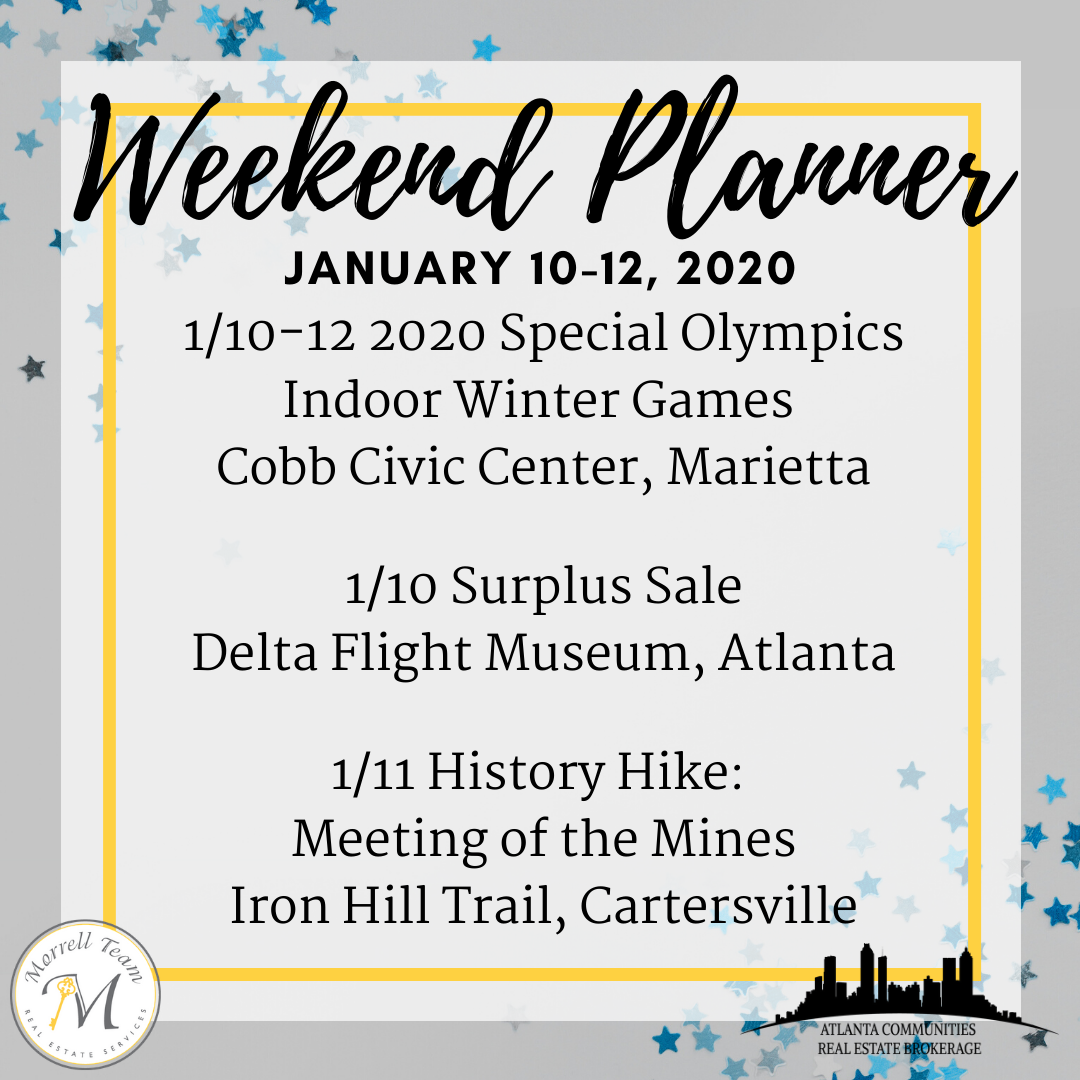 Weekend Planner Jan 82020