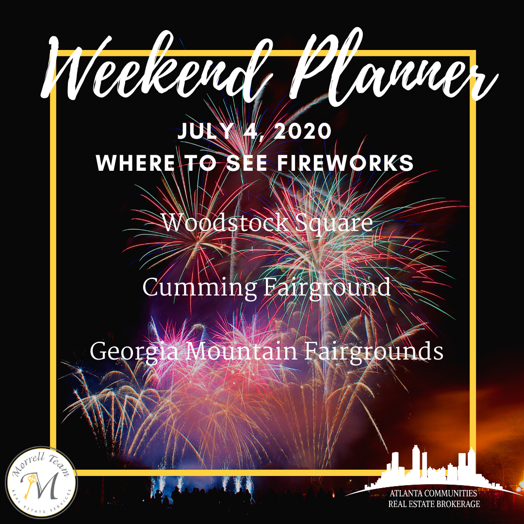 Weekend Planner July 1, 2020
