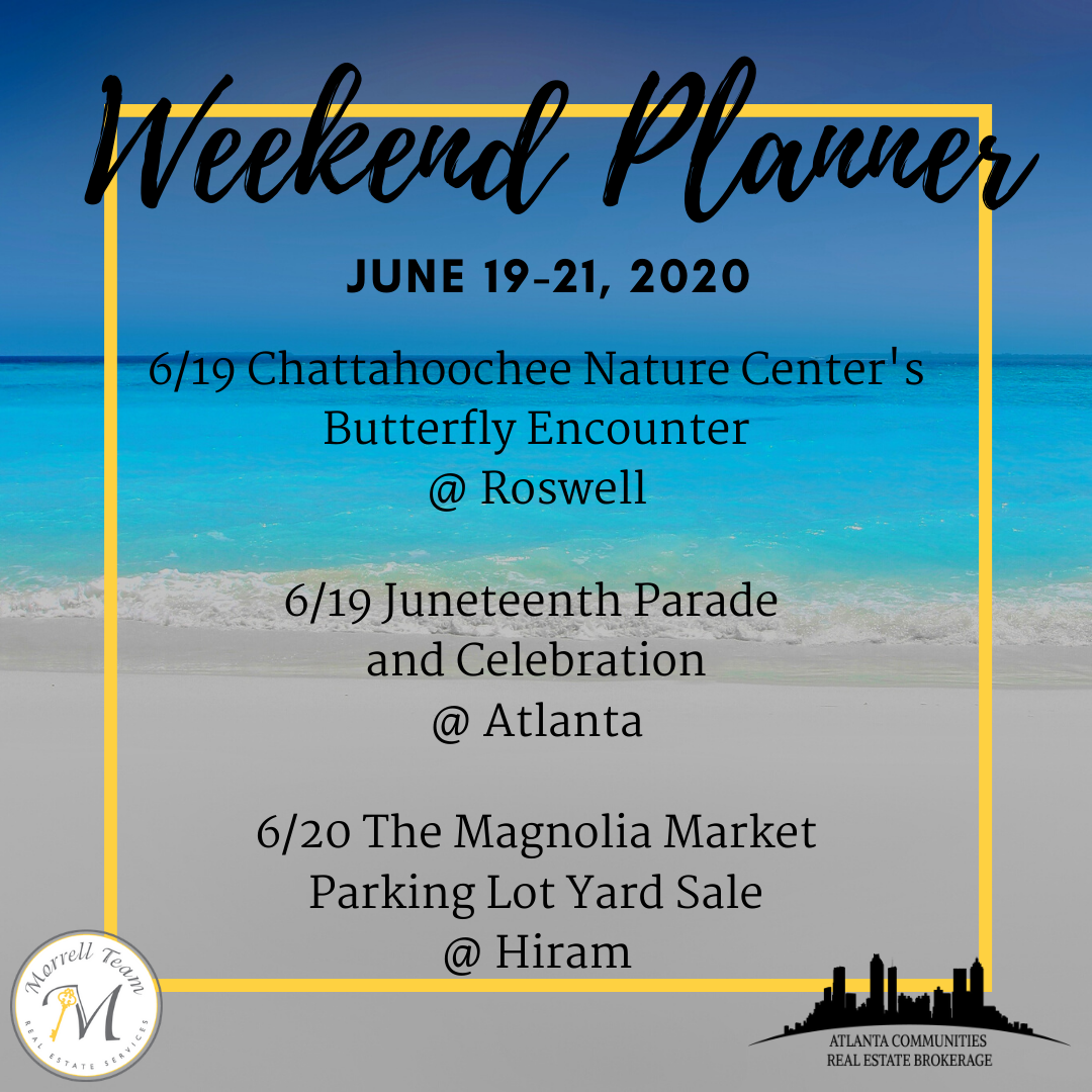 Weekend Planner June 17, 2020
