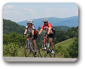 Alleghany County NC Biking in Mountains