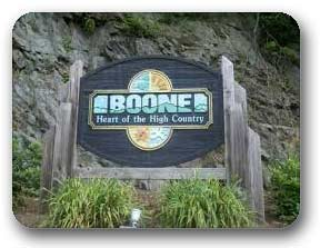 Enter Boone North Carolina Sign