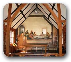 Glendale Springs, Ashe County NC Church of Fresco