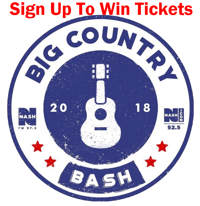 Big Country Bash Sign Up
