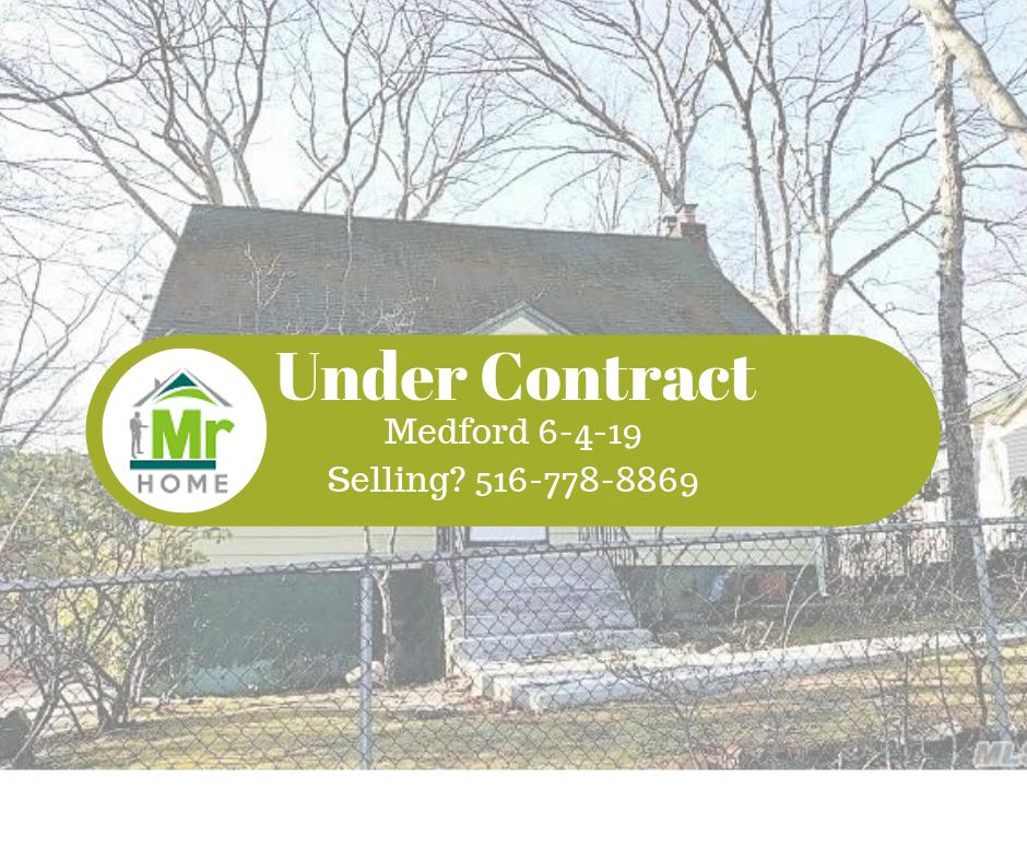 Under Contract Medford NY