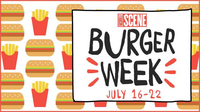 Nashville Scene Burger Week Graphic, via Nashville Scene