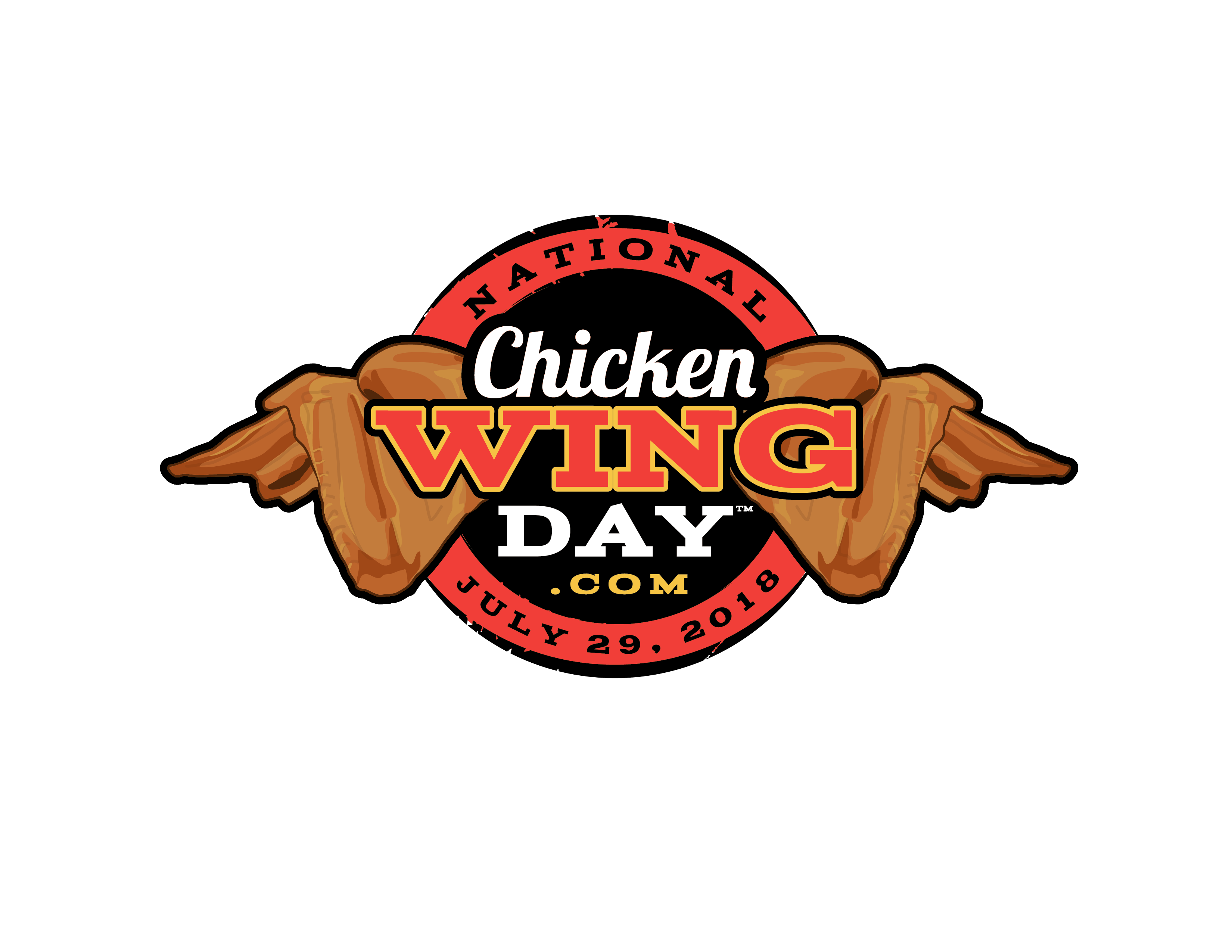 National Chicken Wing Day Logo