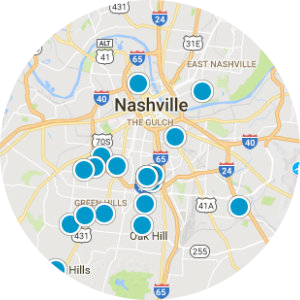 East Nashville Real Estate Map Search