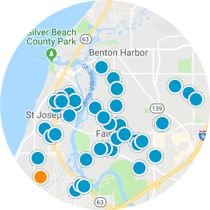 Benton Harbor Real Estate Map Search