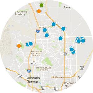 Banning Lewis Ranch Real Estate Map Search