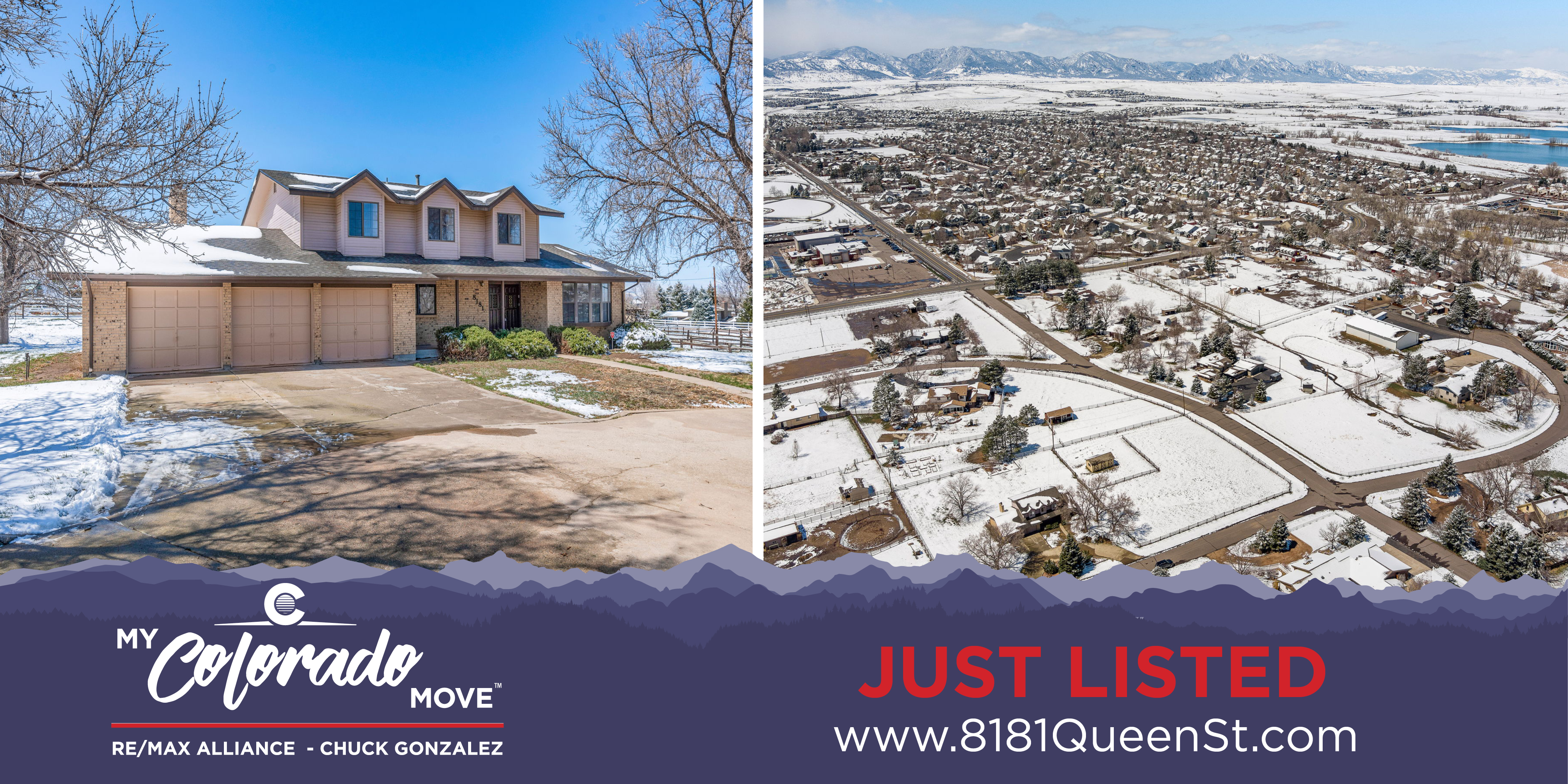 Just listed in Meadowgate Farms - 8181 Queen St, Arvada, CO 80005