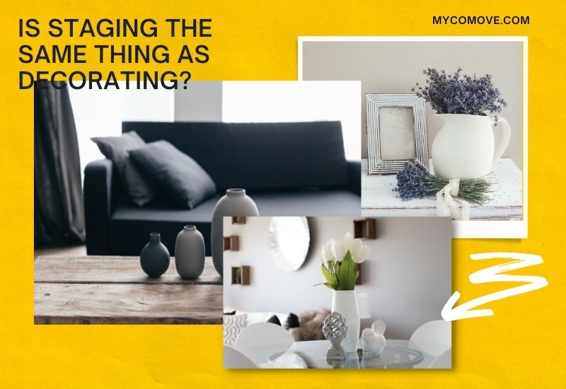 Is Staging the Same Thing as Decorating?