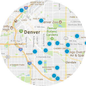 NE Park Hill Real Estate Map Search