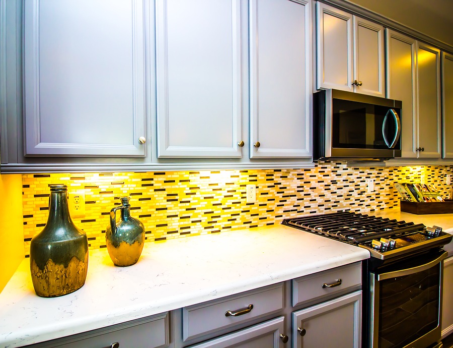 Choose peel and stick tile for Reston real estate.