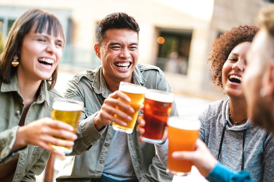 Drink beer brewed on Sterling real estate.