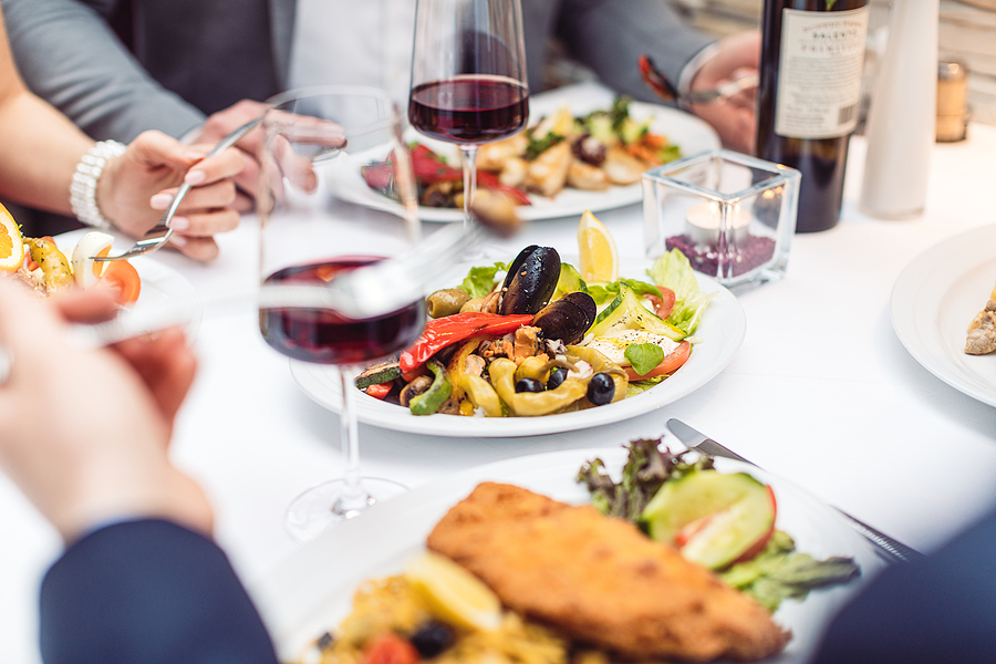 Eat great Italian food on Herndon real estate.