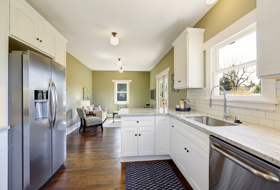 Freshen up the kitchen at your Reston home before selling.