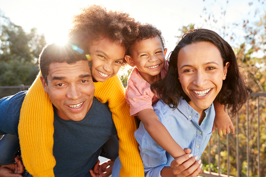 Oak Spring Cluster homes are great for families.