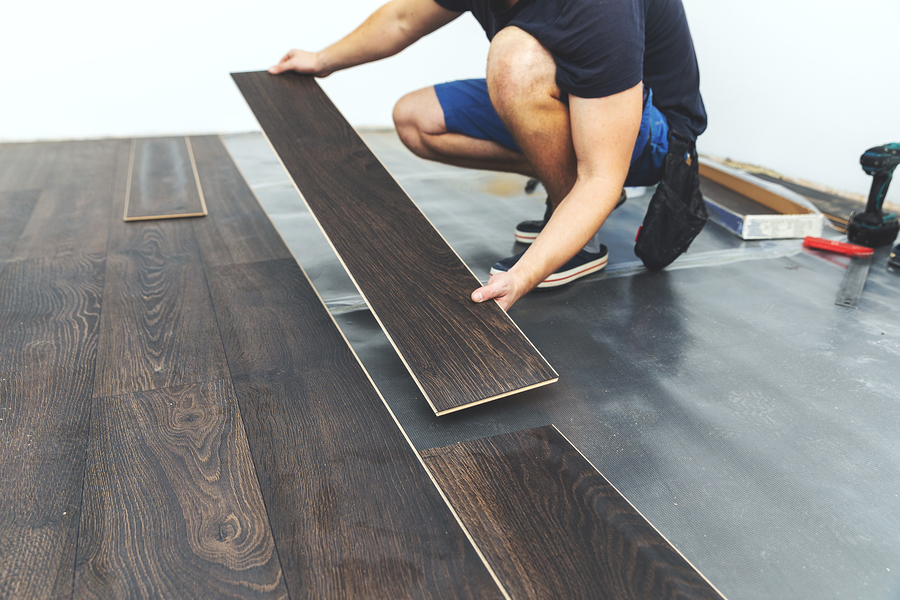Reston property owners use temporary flooring solutions.