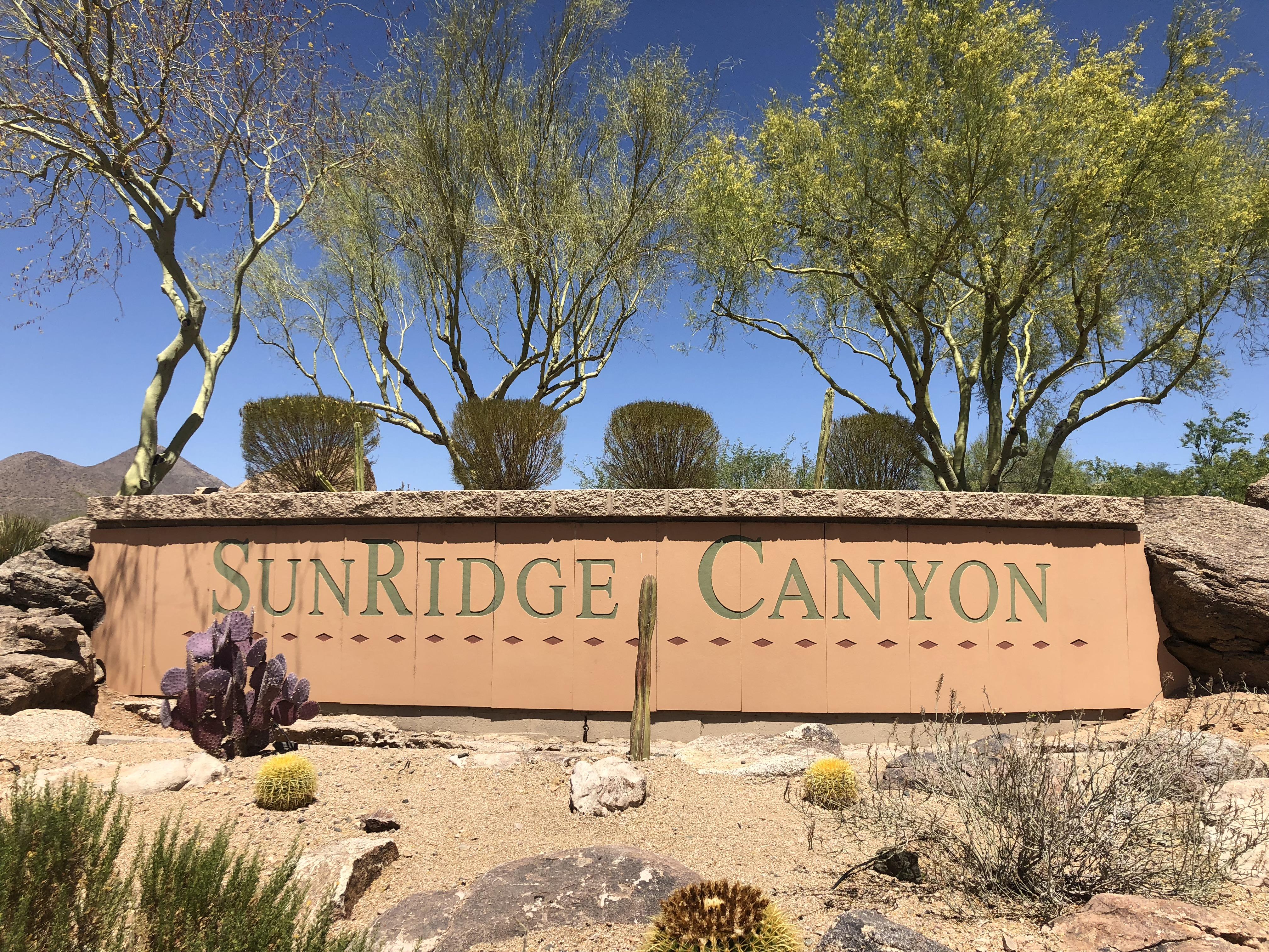 Sunridge Canyon Golf Course Community