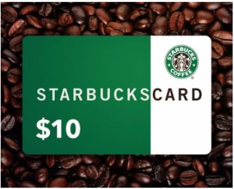 Matt Grohe $10 Starbucks card program