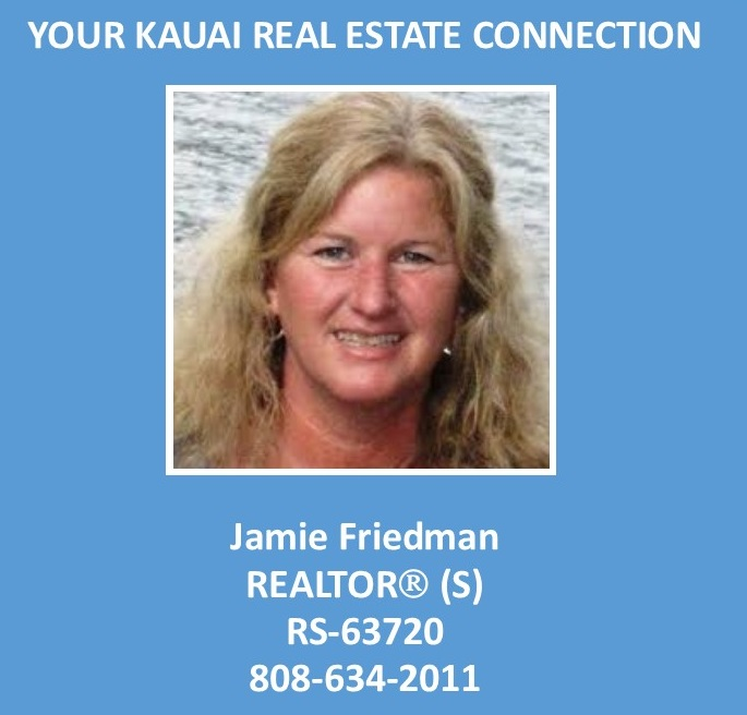 Jamie Friedman Kauai Real Estate