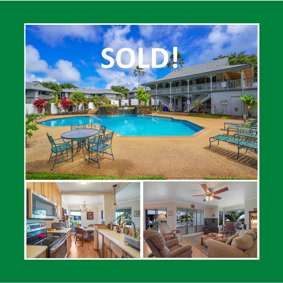 Kalapaki Villas 108 SOLD Jamie Friedman eXp Realty Kauai Realtor