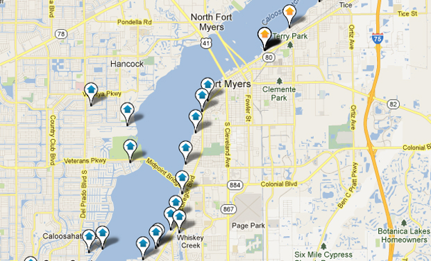 Fort Myers Gulf Access Home Search