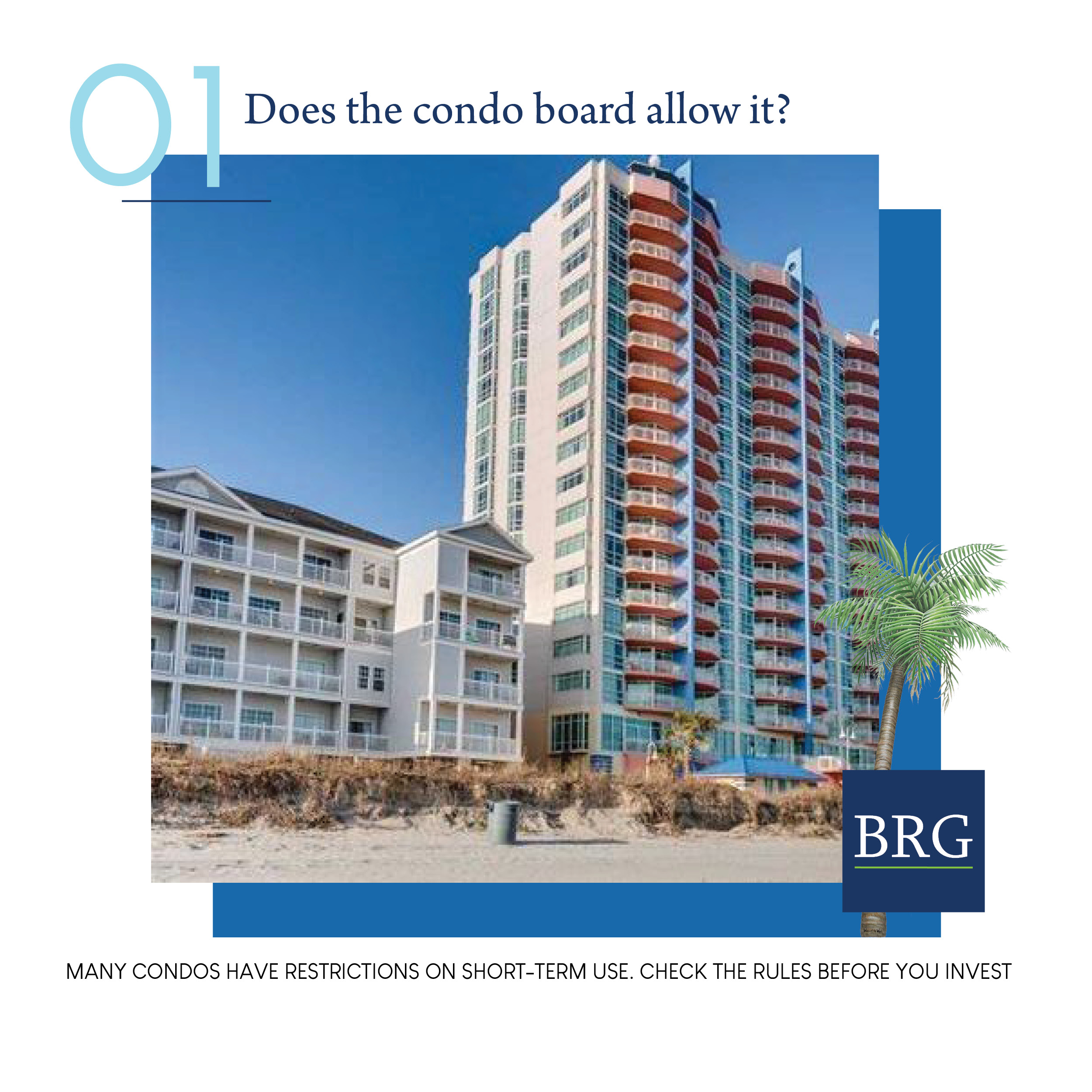 Picture of oceanfront condo building