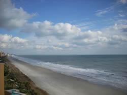 Ocean Views from Island Vista Myrtle Beach