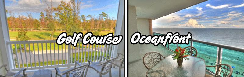 Oceanfront Condo or Golf Course Condo