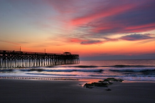 Pawleys Island Pier at Sunrise
