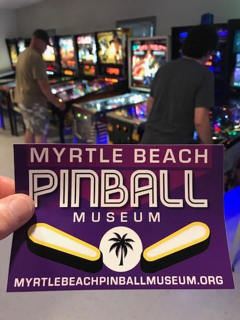 Myrtle beach Non Profit Pinball Musuem