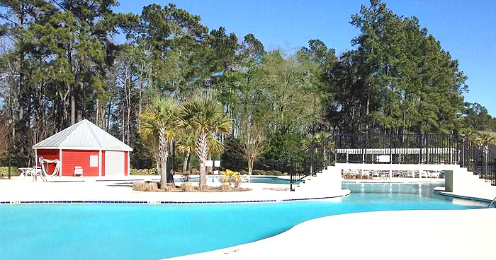 Pool at The Farm at Carolina Forest
