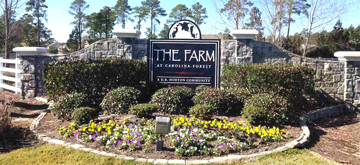 New Homes in The Farm in Carolina Forest