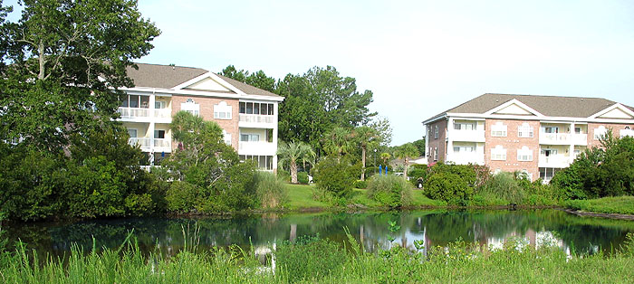 Pond in Cypress Village at The Gardens