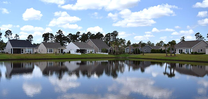 Lake Homes in Summerlyn Carolina Forest